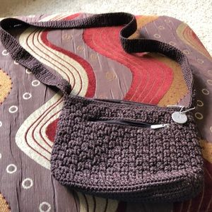 Brown Sak crochet bag